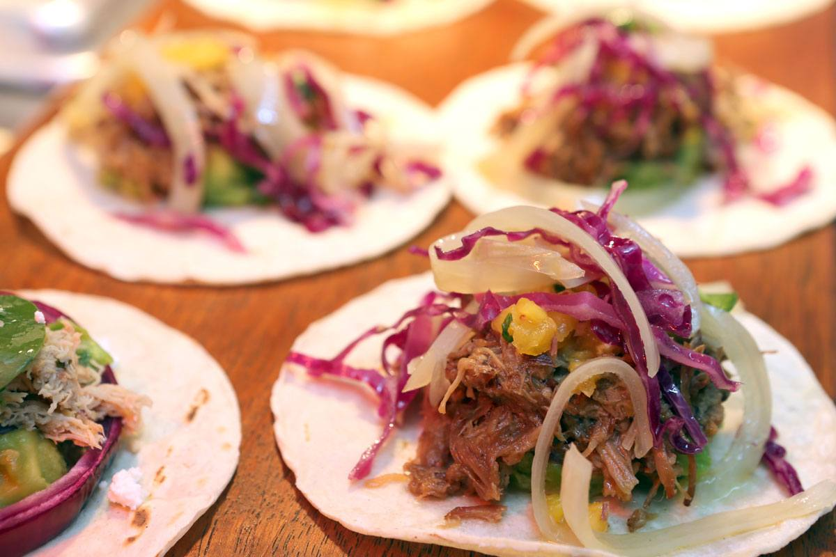 Taco dish at Tacos and Tequila condado vanderbilt