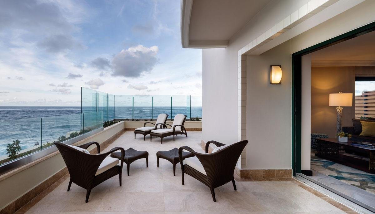 One Bedroom Terrace Hotel Suite in San Juan Puerto Rico