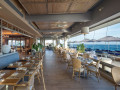 Ola restaurant deck view seating