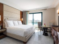 Tower guestroom with city view