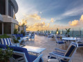 sunset on the terrace at condado vanderbilt